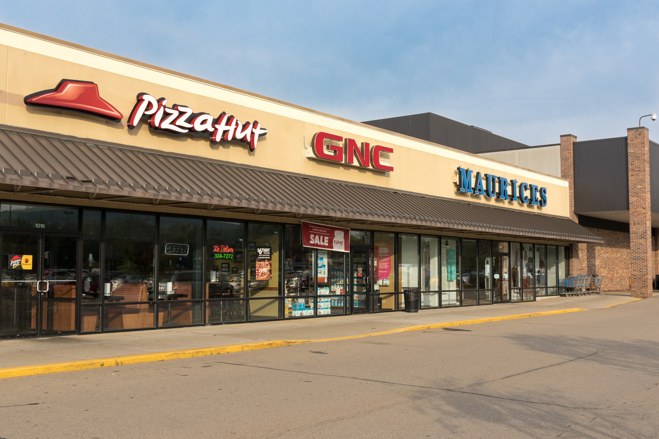 Pizza Hut and GNC